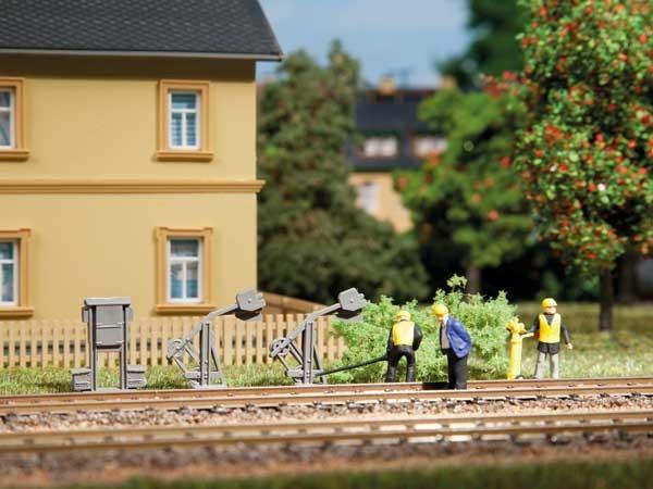 Auhagen 42575 H0/TT-Gleisbau-Zubehör, Kastenspannwerke, Spannwerke