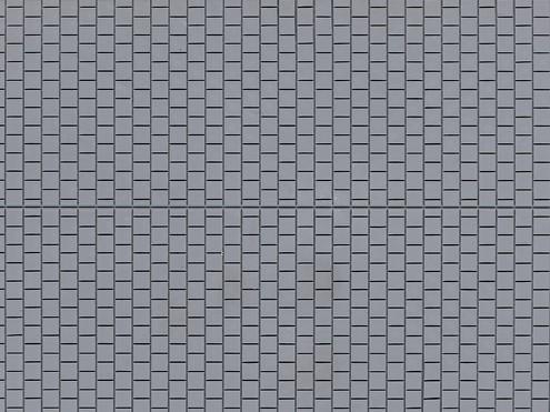 """Auhagen 52223 H0/TT 2-Dekorplatten """"Fußsteig"""", grau"""