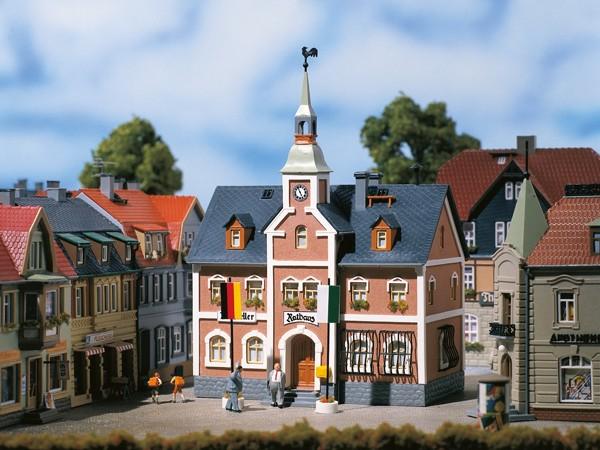 Auhagen 12241 H0/TT-Modellbausatz, Rathaus