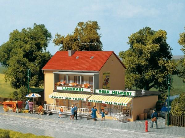 Auhagen 12238 H0/TT-Modellbausatz, Landwarenhaus