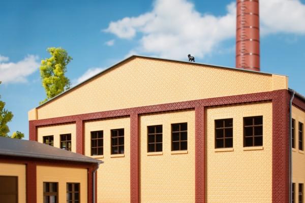 Auhagen 80421 H0-BauKastenSystem / Bauteile: Attika 2581 gelb