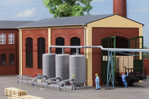 Auhagen 80111 H0-BauKastenSystem / Bauteile: Dampfspeicherkessel