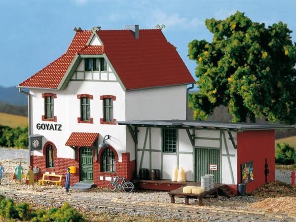 "Auhagen 11347 H0-Modellbausatz, ""Bahnhof Goyatz"""