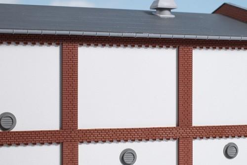 Auhagen 80726 H0-BauKastenSystem / Bauteile: Wände 2532J geputzt
