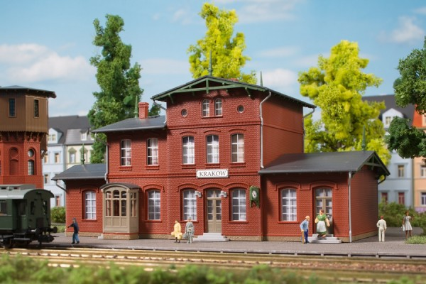 Auhagen 14467 N-Modellbausatz, Bahnhof Krakow