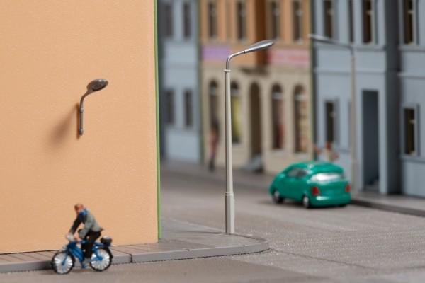 Auhagen 44648 N-Ausgestaltungs-Zubehör, Peitschenlampenattrappen