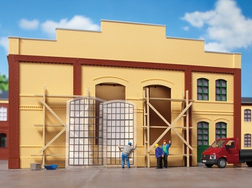Auhagen 80210 H0-BauKastenSystem / Bauteile: Industriefenster groß E
