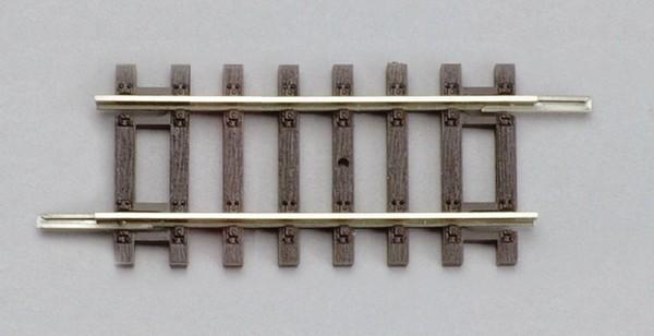 """Piko A-Gleis, 55205 H0 - Gerades Gleisstück """"G62"""" für DC-Gleissystem"""