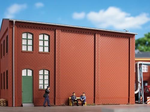 Auhagen 80511 H0-BauKastenSystem / Bauteile: Wände 2342M rot