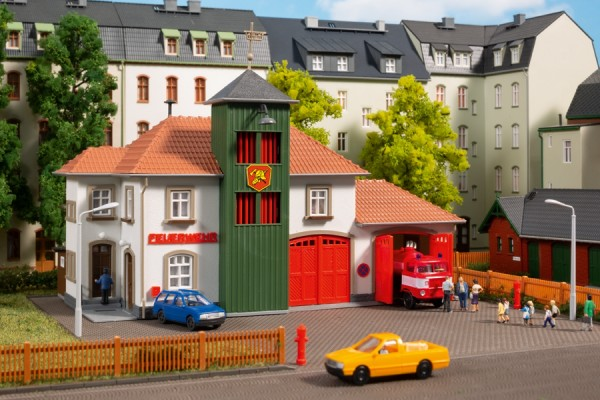 Auhagen 13274 TT-Modellbausatz, Feuerwache