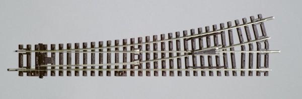 """Piko A-Gleis, 55220 H0 - Weiche links """"WL"""" für DC-Gleissystem"""