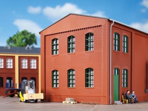 Auhagen 80514 H0-BauKastenSystem / Bauteile: Wände 2324F rot