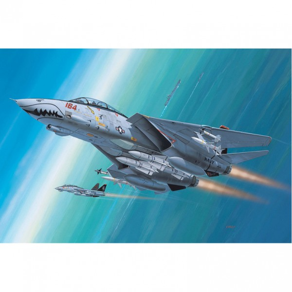 "Revell-Flugzeugmodell, 04049 Flugzeug-Modellbausatz ""F-14 D Super Tomcat"""