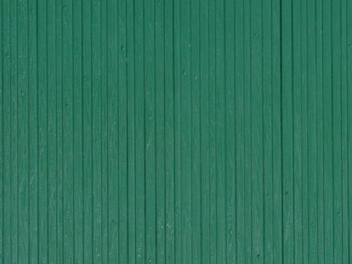 """Auhagen 52419 H0/TT 1-Dekorplatte """"Bretterwand"""", grün"""