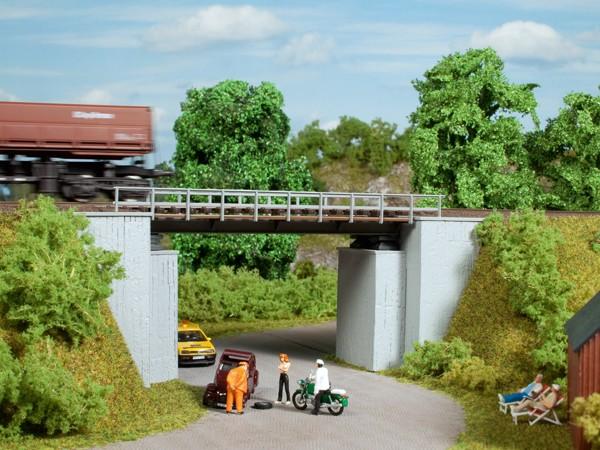 Auhagen 11428 H0-(Modellbausatz), Kleine Brücke