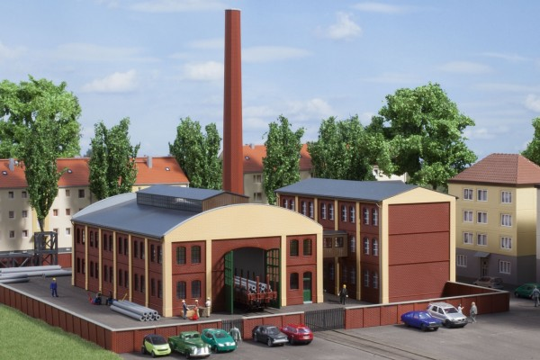 Auhagen 14475 N-Modellbausatz, Fabrikgebäude