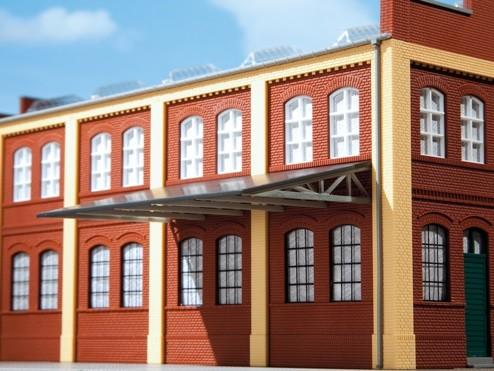 Auhagen 80302 H0-BauKastenSystem / Bauteile: Rampendächer, Schauer