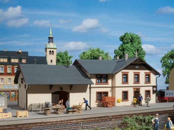 """Auhagen 11362 H0-Modellbausatz, """"Bahnhof Oberrittersgrün"""""""