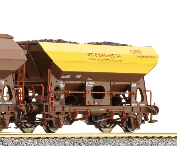 Tillig 500921 TT-Schüttgutwagen Ep. V, eingestellt bei der ÖBB