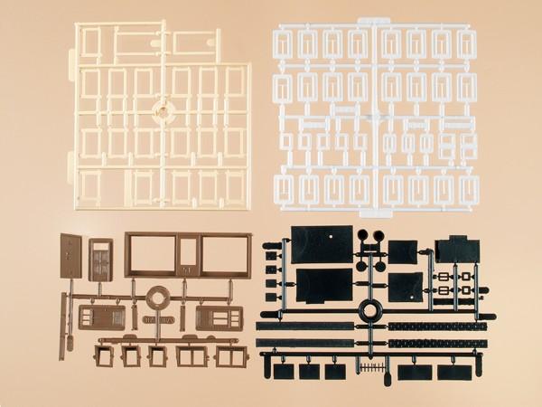 Auhagen 48550 H0/TT-Bauteile: Bastelset für Wohngebäude