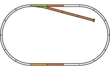 "Piko A-Gleis, 55310 H0 - Gleis-Set ""Set B"", mit Modellgleis für DC-Gleissystem"