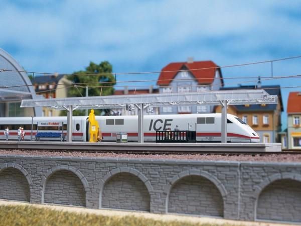 Auhagen 13303 TT-(Modellbausatz)/Gleisbau, Bahnsteig