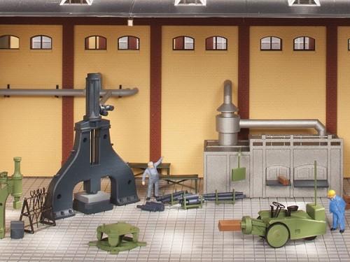 Auhagen 80109 H0-BauKastenSystem / Bauteile: Dampfhammer und Zubehör