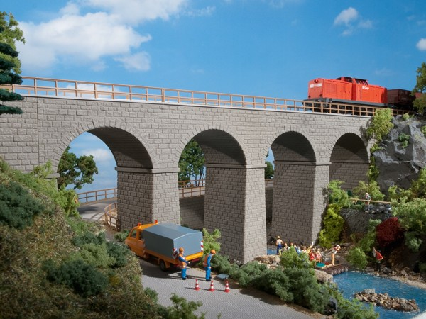 """Auhagen 11344 H0-Modellbausatz, """"Eisenbahnbrücke"""""""