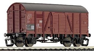 Tillig 95224 TT-Gedeckter Güterwagen (Oppeln) Ep. IV, eingestellt bei der DB
