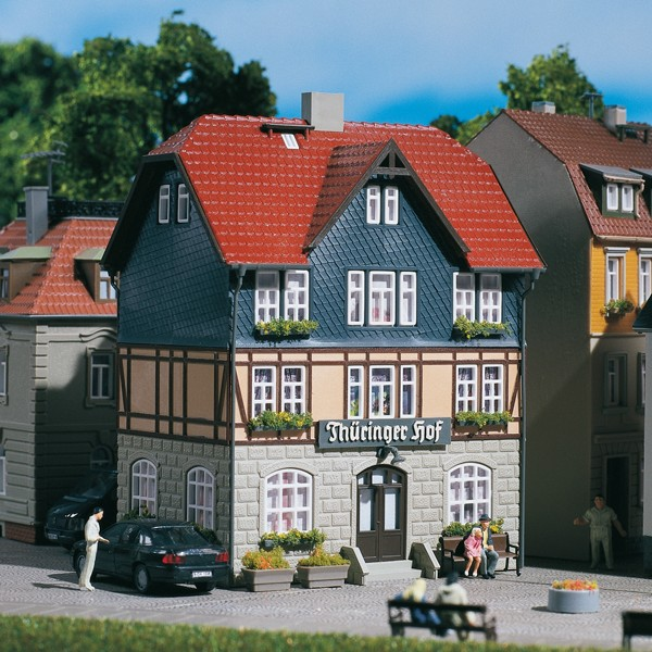Auhagen 12271 H0/TT-Modellbausatz, Gasthaus Thüringer Hof