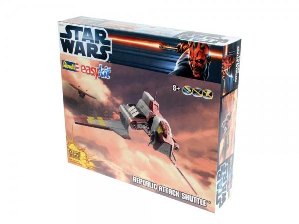 "Revell-easykit,(Science-Fiction) 06683 SciFi-Modellbausatz ""Star Wars - Republic Attack Shuttle"""