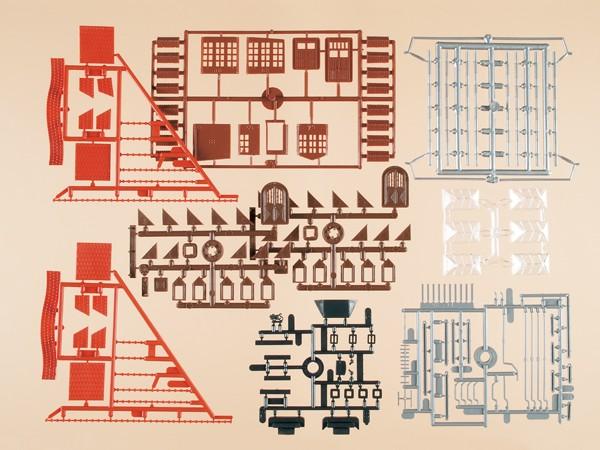 Auhagen 48583 H0/TT-Bauteile: Dachzubehör