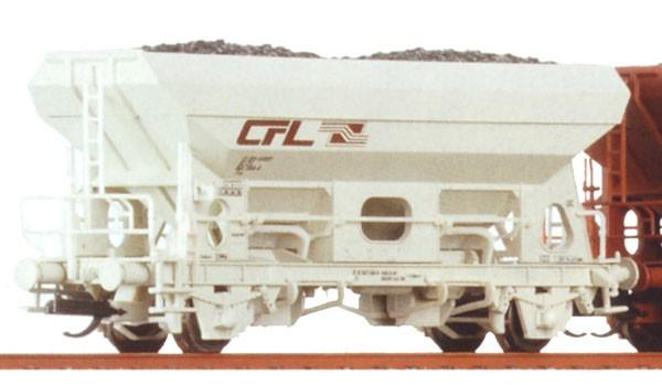 Tillig 500918 TT-Schüttgutwagen Ep. V, eingestellt bei der CFL