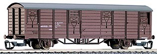 Tillig 14180 TT-Gedeckter Güterwagen Ep. IV, eingestellt bei der ÖBB